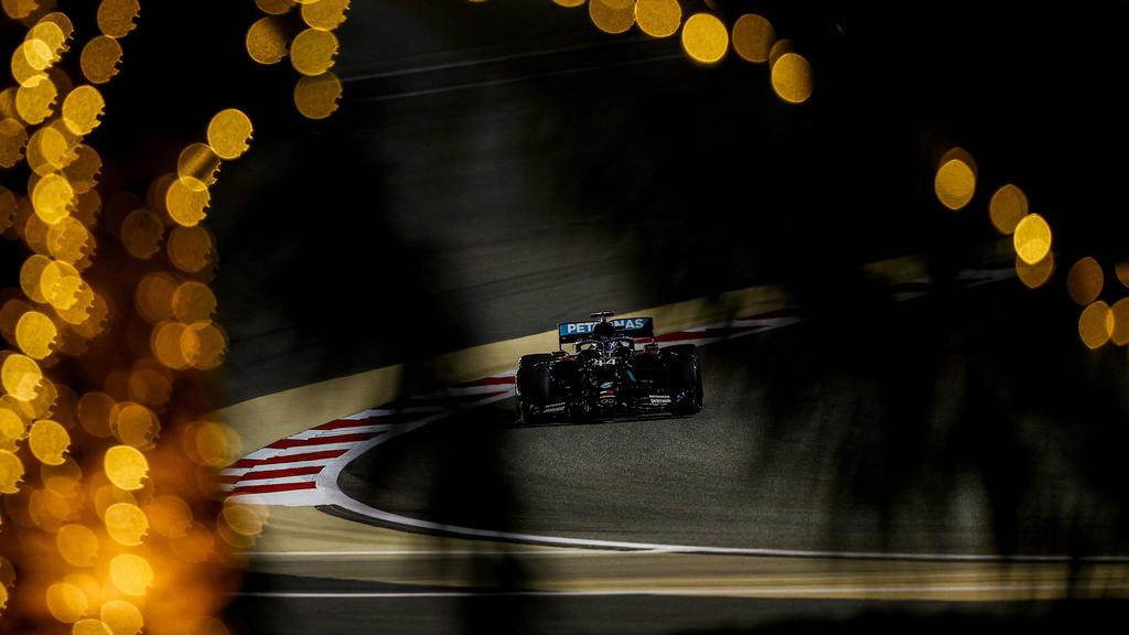 Lewis Hamilton war erneut Schnellster im Training