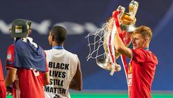 Joshua Kimmich und der FC Bayern haben ein überaus erfolgreiches Jahr hinter sich