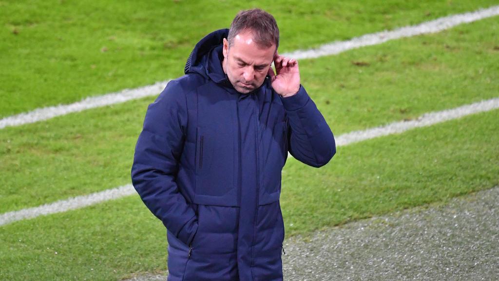 Hansi Flick steht mit dem FC Bayern unter Druck