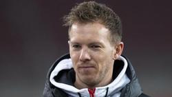 Leipzigs Trainer Julian Nagelsmann zeigt sich von der bisherigen Saison des 1. FCUnion beeindruckt