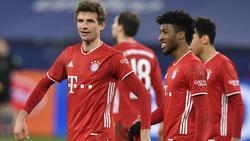 Die Bayern hatten am Sonntag auf Schalke keine Probleme