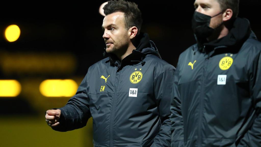 Enrico Maaßen coacht die U23 des BVB