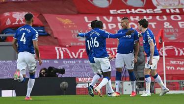 Der FC Everton siegte beim FC Liverpool