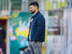 Ried-Trainer Miron Muslic ist mit Gegenwind konfrontiert