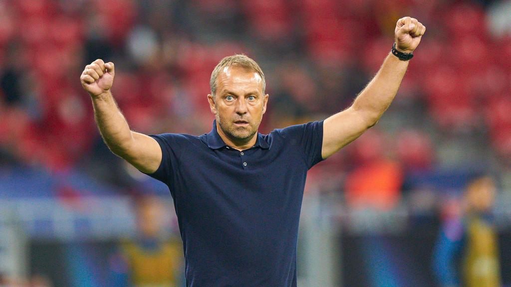 Hansi Flick führte den FC Bayern 2019/20 zu sechs Titeln