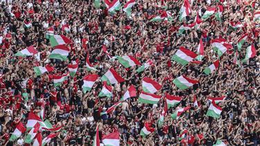 Einige Fans in Budapest haben sich offenbar daneben benommen