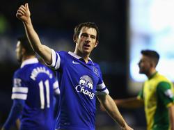Leighton Baines ist eine Galionsfigur des FC Everton