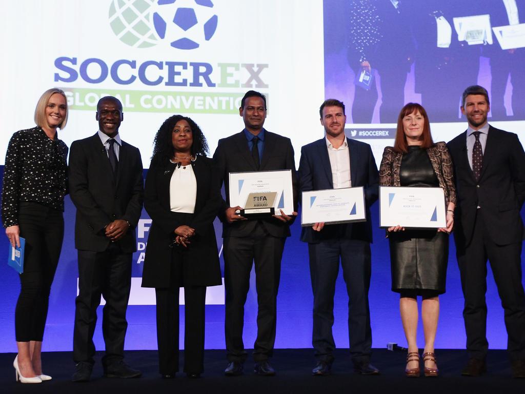 Die FIFA vergab erstmals die Auszeichnung für Vielfalt