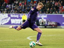 Stürmt wohl bald für Hertha BSC: Pascal Köpke