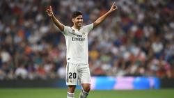 Marco Asensio erzielte das goldene Tor für Real Madrid
