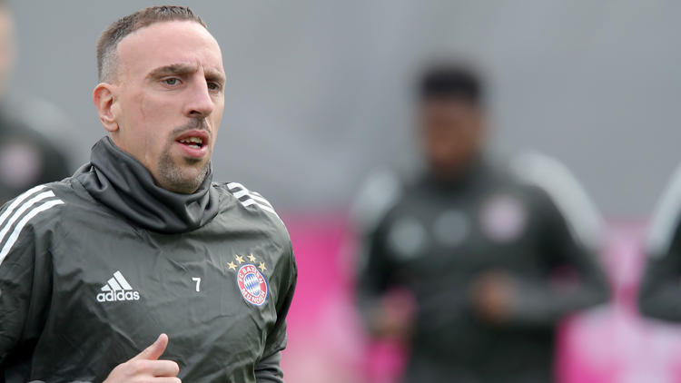 Franck Ribéry beim FC Bayern in Trainings-Zoff verwickelt