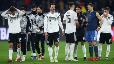 Deutschland steigt ab und fällt aus Lostopf 1