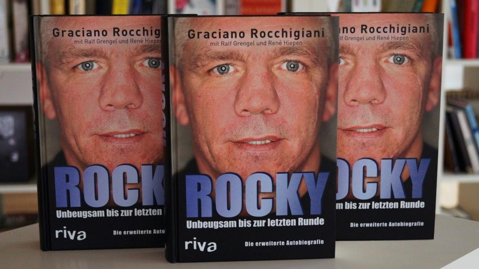 Fans von Graciano Rocchigiani können sich auf eine neue Autobiografie freuen