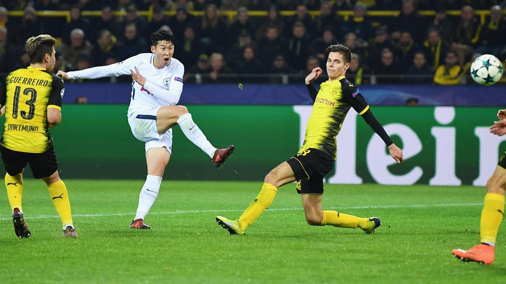 Die Spurs fordern den BVB im CL-Achtelfinale