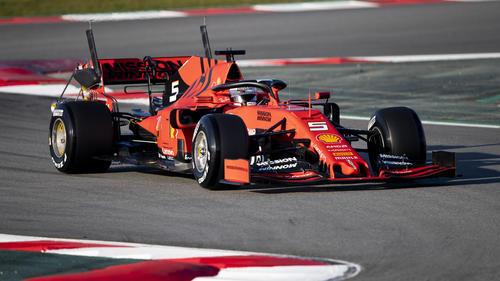 Sebastian Vettel und Ferrari kamen am besten aus der Winterpause heraus
