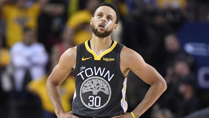Mit den Golden State Warriors unter Druck: Stephen Curry