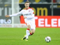 Robin Bormuth hat seinen Vertrag in Düsseldorf vorzeitig verlängert