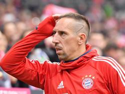 Steht Franck Ribéry vor dem Aus beim FC Bayern München?