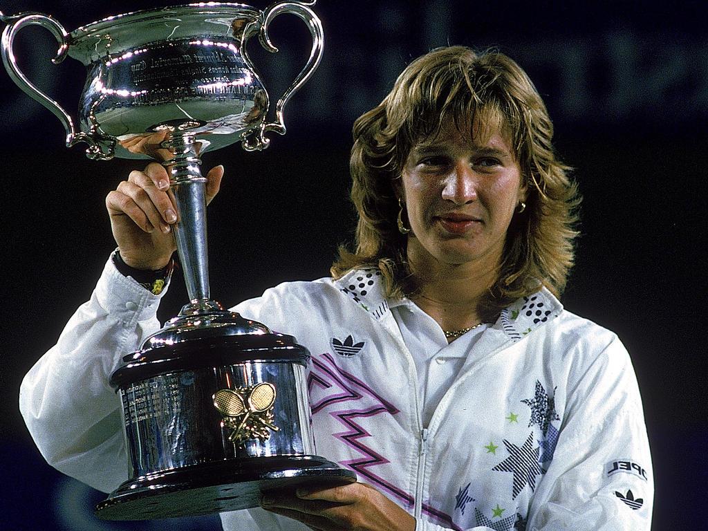 Im Jahr 1988 gewann Steffi Graf als erste Deutsche die Australian Open