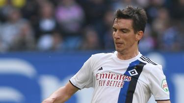 Ist nach seinem Schlüsselbeinbruch wieder fit: HSV-Routinier Christoph Moritz
