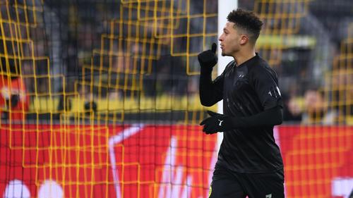 Jadon Sancho will die Saison angeblich auf jeden Fall beim BVB beenden