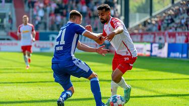 Jahn Regensburg und der Karlsruher SC trennten sich unentschieden