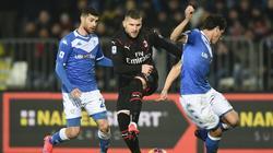 Ante Rebic erzielt den Siegtreffer für die Rossoneri