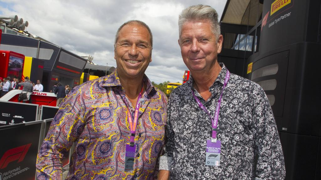Kai Ebel und Heiko Wasser zählten jahrelang zum Formel-1-Zirkus