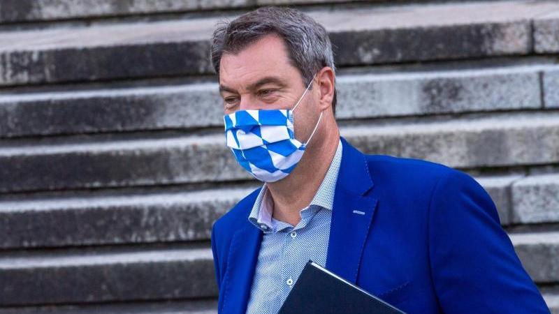 Markus Söder spricht sich gegen weitere Lockerungen von Corona-Auflagen aus