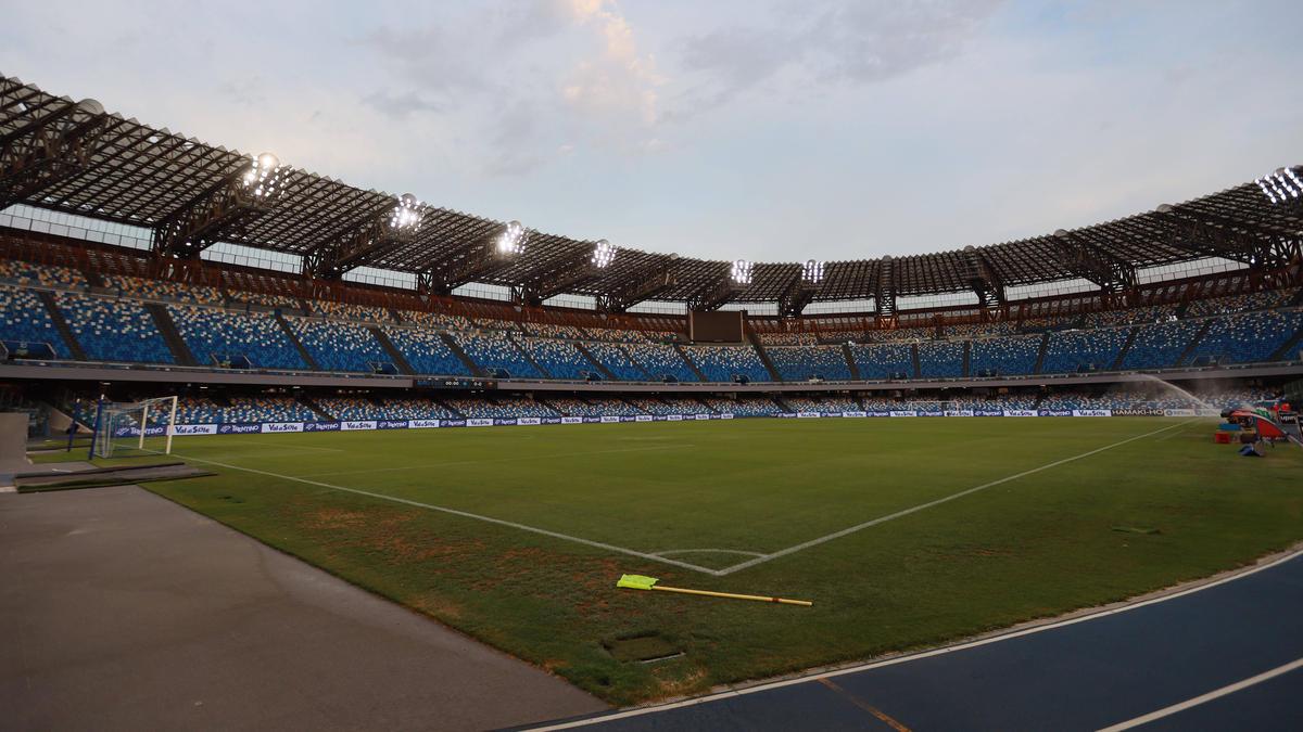Im San Paolo von Neapel dürfen bald wieder Fans Platz nehmen