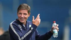 Oliver Glasner will mit dem VfL Wolfsburg in die Europa-League-Gruppenphase einziehen