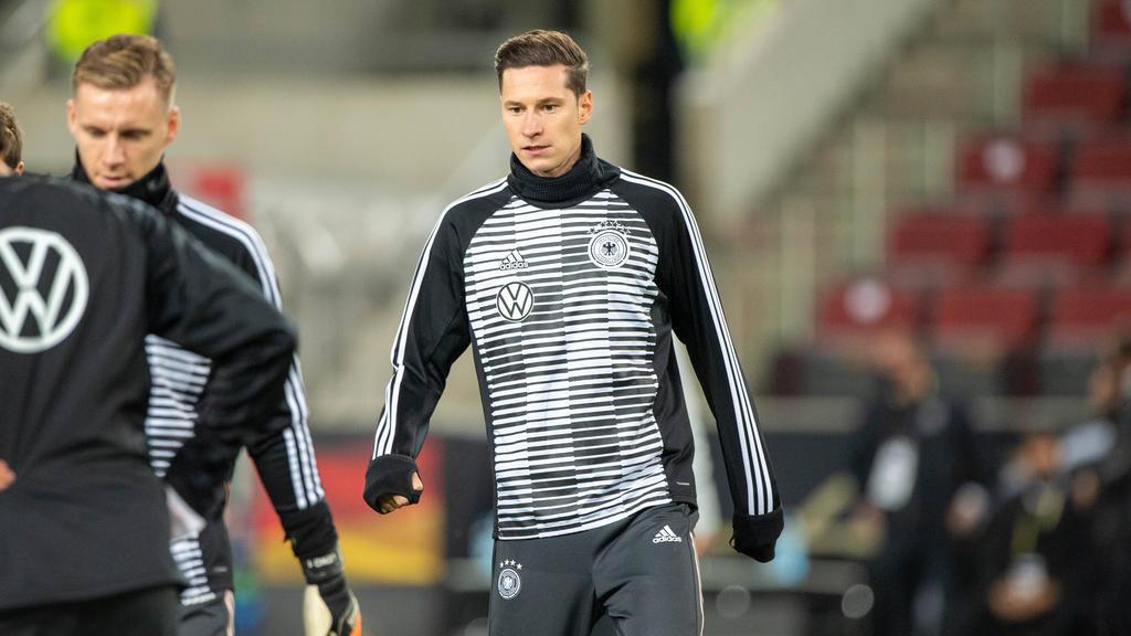 Julian Draxler soll sich beim DFB-Team verletzt haben