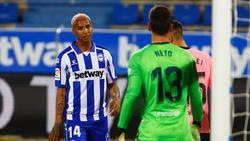 Barcelonas Ersatzkeeper Neto (r.) erlebte keinen guten Abend