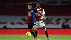 Der FC Arsenal und Crystal Palace trennten sich mit einem Remis