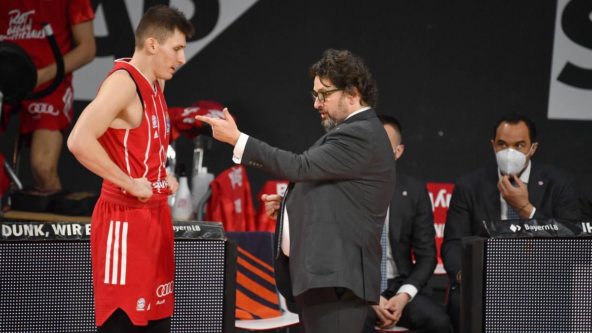 FC-Bayern-Coach Trinchieri hat Hunger auf mehr