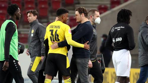 BVB-Coach Edin Terzic konnte dank Knauff einen Sieg bejubeln