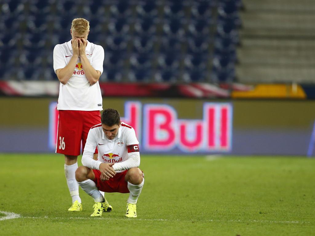 Im Elfmeterschießen kam für RB Salzburg das Aus