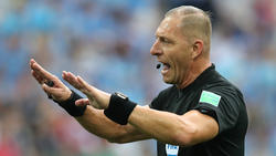 Der argentinische Schiedsrichter Nestor Pitana wird für seine ausladende Gestik und ausdrucksstarke Mimik von Fans gefeiert