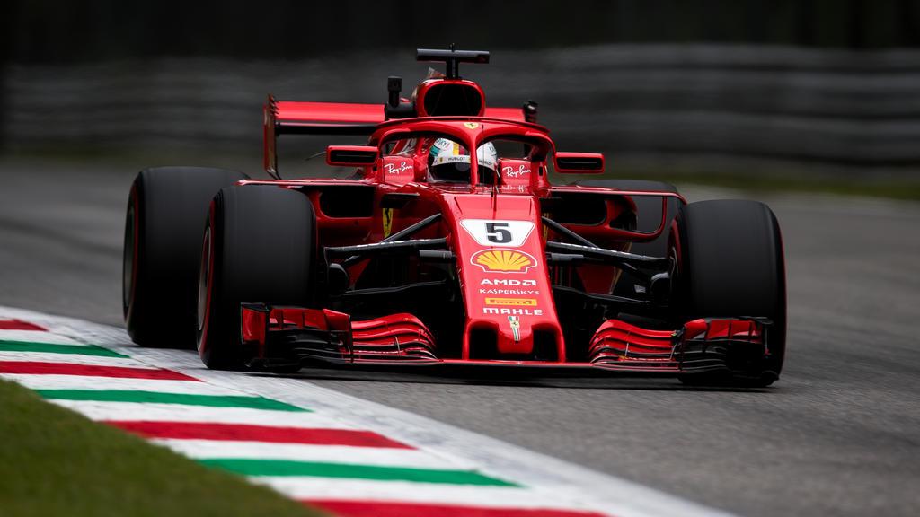 Sebastian Vettel setzte im dritten Training die Bestzeit
