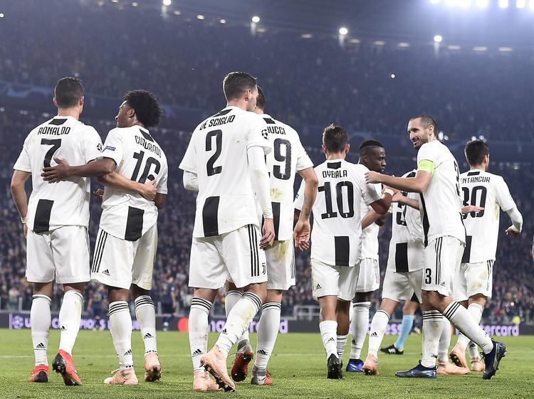 Juventus ist voll auf Kurs
