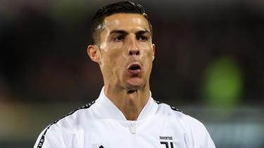 Cristiano Ronaldo präsentiert sich nicht als guter Verlierer