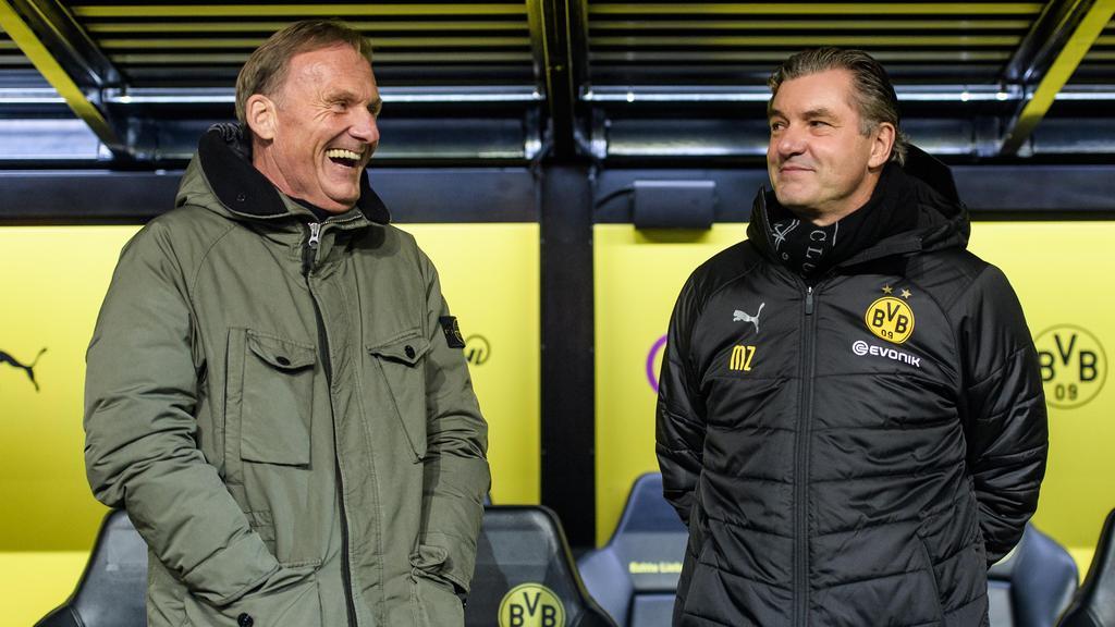 Hans-Joachim Watzke und Michael Zorc wollen Deutscher Meister werden