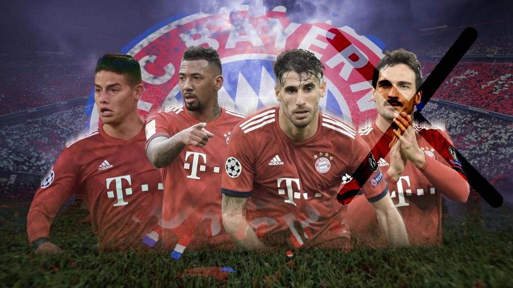 Wer muss den FC Bayern im Sommer 2019 verlassen?