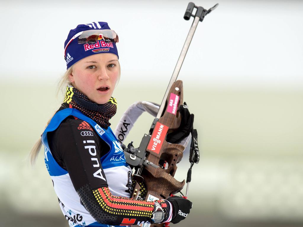Miriam Gössner will in der neuen Saison wieder vorne angreifen