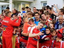 Beliebt bei den Fans