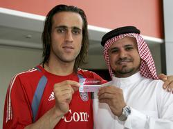 Karimi (li.) hat von 2005 bis 2007 bei Bayern München unter Vertrag gestanden