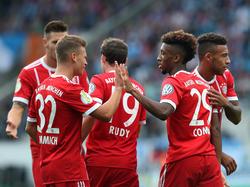 Die jüngere Generation im Bayern-Kader erhielt in der Vorbereitung viel Spielzeit