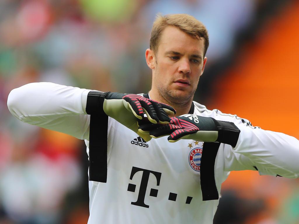 Neuer parece ya recuperado de sus dolencias en el pie. (Foto: Getty)