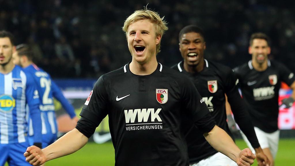 Trotz Wechselwünschen kann sich Martin Hinteregger einen Verbleib beim FCAugsburg vorstellen