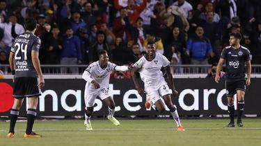 Liga de Quito sorprendió a Olimpia con un 3-1.